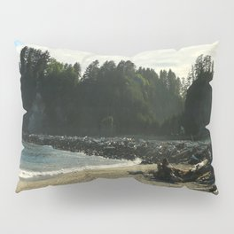 Driftwood on La Push Beach Pillow Sham