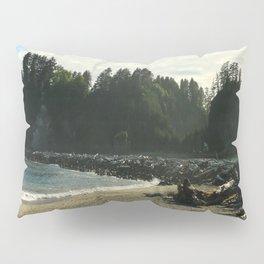 Driftwood on La Push Beach Pillow Sham