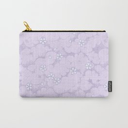 Kumori Nochi Sakura: Purple Carry-All Pouch