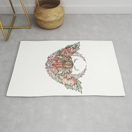 The Forest Moth Rug