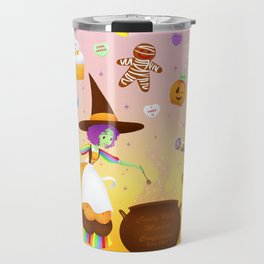 Sweet Candy Witch Travel Mug