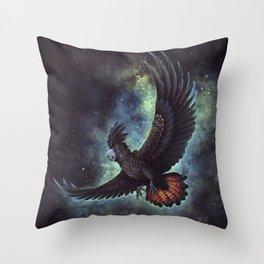 Starry Flight Throw Pillow