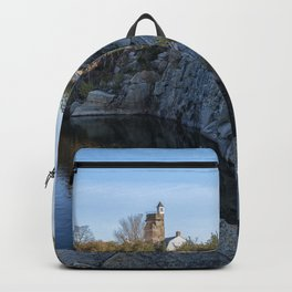 Autumn Quarry Landscape Backpack