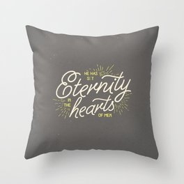 ETERNITY IN HEARTS Throw Pillow