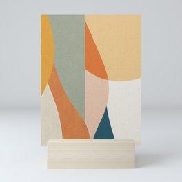 Curves and Sun 2 Mini Art Print