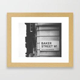 Oh, Sherlock! Framed Art Print