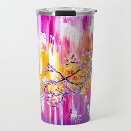 Sakura in the Spring Travel Mug