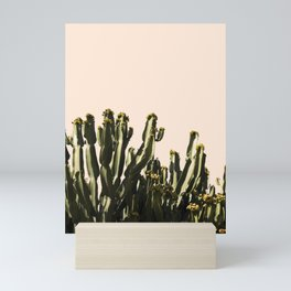 cactus nature x Mini Art Print