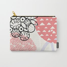 palm desert: 80's pastel patterns Carry-All Pouch