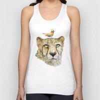 cheetah Tank Tops featuring Cheetah by dogooder