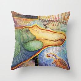 S. aegyptiacus Throw Pillow