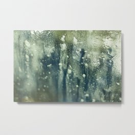 Abstract Water Metal Print