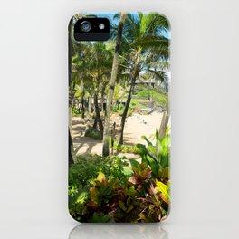 Kuau Beach Cove Paia Maui Hawaii iPhone Case