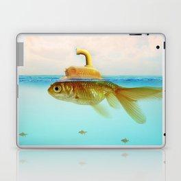 Submarine Goldfish Laptop & iPad Skin
