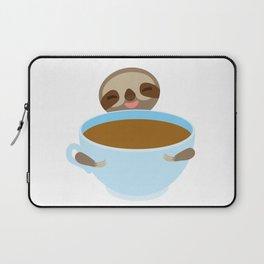 sloth & coffee Laptop Sleeve