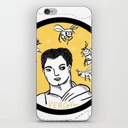 Vergil and Bees iPhone Skin