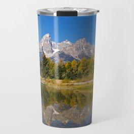 The Snake River and the Tetons Travel Mug