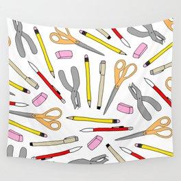 Drawing Tools Wall Tapestry