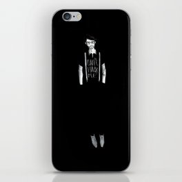 Can't hack Me iPhone Skin