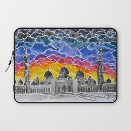 Sheikh Zayed Grand Mosque, Abu Dhabi, UAE Laptop Sleeve