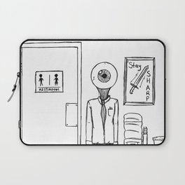N(i)ne to Five Laptop Sleeve
