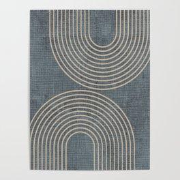 Grunge Texture Minimalist Poster