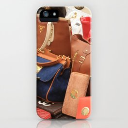 Women's Designer Handbags iPhone Case