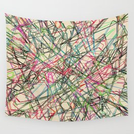 Scribble Wall Tapestry