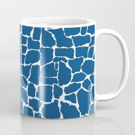 Classic Blue Giraffe Coffee Mug