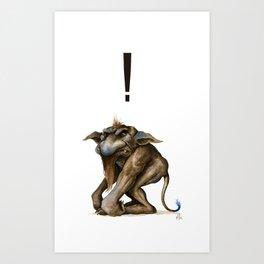 Grouch Art Print