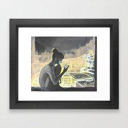 Modern Love Framed Art Print