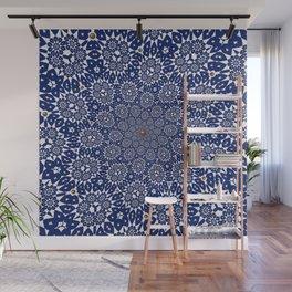 Bleu Gyre Royale Wall Mural