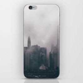 Chicago Shrouded in Fog iPhone Skin