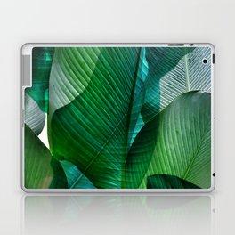Palm leaf jungle Bali banana palm frond greens Laptop & iPad Skin