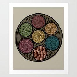 Spice Tin Art Print