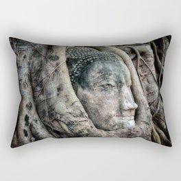 Banyan Tree Buddha Rectangular Pillow