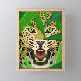 Leopard Framed Mini Art Print