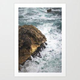 BLUE SEA II Art Print