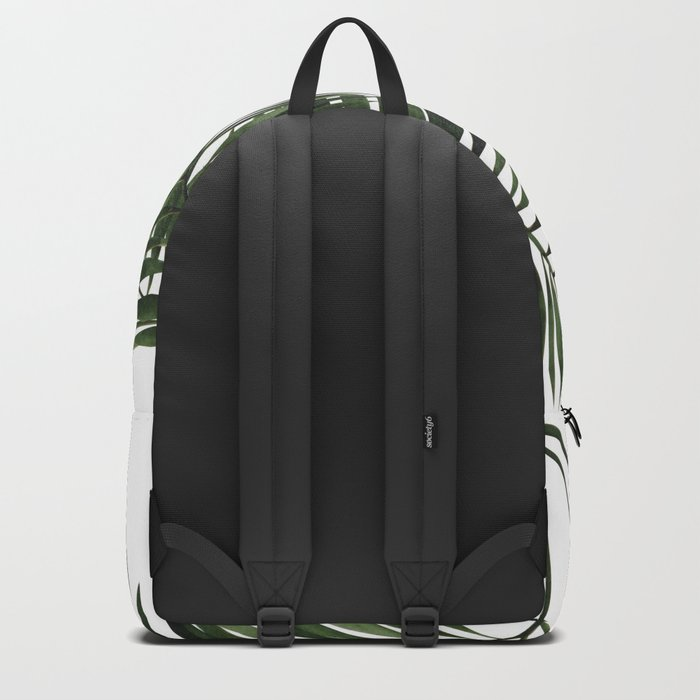Tropical Exotic Palm Leaves I Backpack