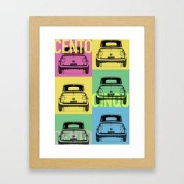 Cars & Pop Framed Art Print