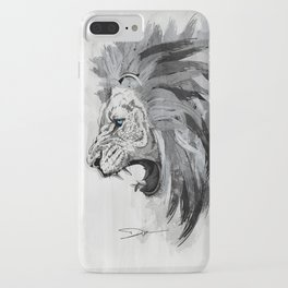 Lion - The king of the jungle iPhone Case