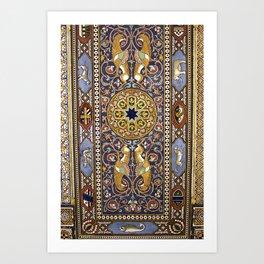 SICILIAN ART DECO Art Print