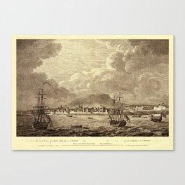 Montreal 1762 Canvas Print
