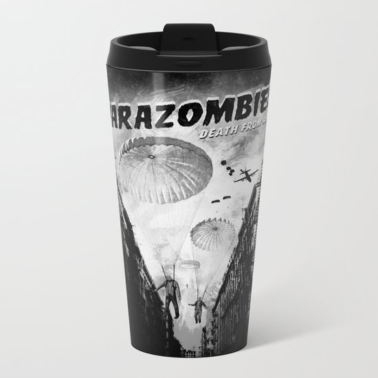 Parazombies Metal Travel Mug