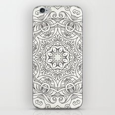 Drawing Floral Doodle G2 iPhone & iPod Skin