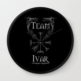 Team Ivar Wall Clock