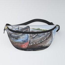 Wrecked River Boats Fanny Pack