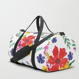 Floral Pattern #9 Duffle Bag