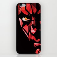 darth iPhone & iPod Skins featuring Darth Maul by Roland Banrevi