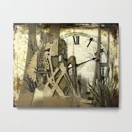 Time limit Metal Print